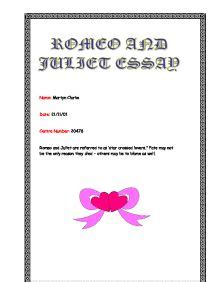 Romeo and juliet assignment real story 1303 - The Pizza
